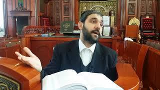 Когда человек в синагоге заключает сделку с габбаем синагоги