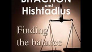 Bitachon And Hishtadlus: FInding The Balance