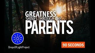 Greatness Shines Through The Parents