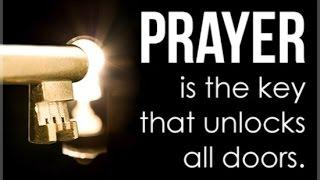 Unlocking the secrets  of prayer