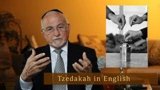 The real meaning of the word Tzedakah