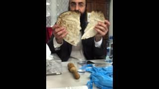 Kezait Of Matzah