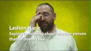 Don't Speak Lashon Hara